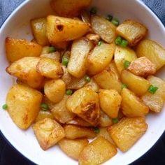 Chilli roast potatoes