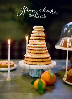 Kransekake Wreath Cake  Photography By / http://whiteloftstudio.com,Design And Styling By / http://stylemepretty.com