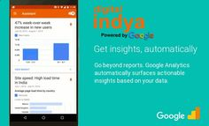 Google Analytics at Digital Indya is a service suggested by Google that generates comprehensive statistics about a websites traffic and traffic sources and assesses alterations and sales.