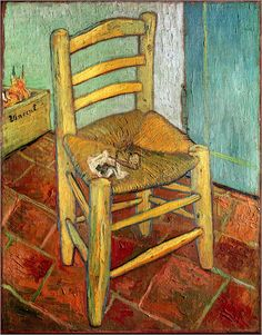 Have this one in my foyer /vincent-van-gogh-Chair and the pipe