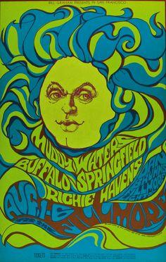 Fillmore Auditorium, August, 1-61967, Muddy Waters/Buffalo Springfield/Richie Havens