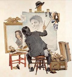 Michael LOVED to draw! <3 <3