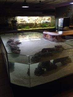 about 3 kg of grain stone for aquariums and terrariums Dekostein Cool Fish Tanks, Saltwater Fish Tanks, Saltwater Aquarium, Freshwater Aquarium, Aquarium Fish, Aquarium Ideas, Stingray Fish, Aquarium Terrarium, Pisces