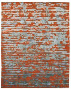 Shimmo • red #lizaphillipsdesign #modernrugs #handmaderugs #goodweave