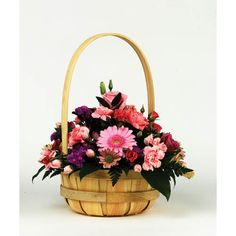 Natural Coloured Basket