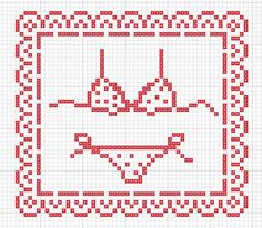 Tizy: Biancheria intima a punto croce/Lingerie, cross stitch