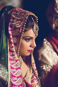 The Graceful Indian Bride.