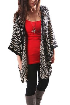 Cardigans come in such a huge variety and are amazing in the fall. You can layer up without being too warm and have great designs!