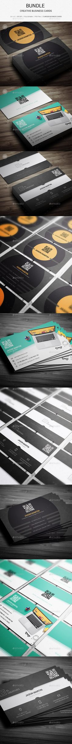 Bundle Business Card Template #print #design Download: http://graphicriver.net/item/bundle-3-in-1-132/12040084?ref=ksioks