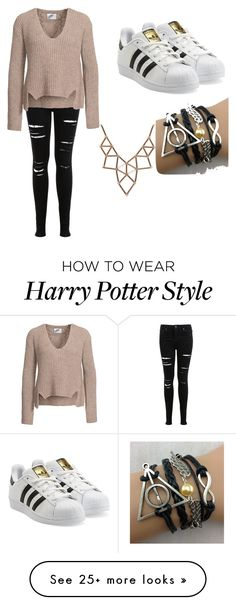 """""""Untitled #1"""" by mailynzhr on Polyvore featuring Miss Selfridge, adidas Originals and Chicnova Fashion"""