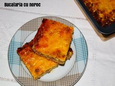 Tarta cu blat de clatita - Bucataria cu noroc Lasagna, Ethnic Recipes, Food, Pie, Essen, Meals, Yemek, Lasagne, Eten