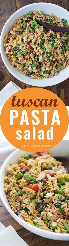 Tuscan Pasta Salad!