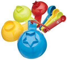 Miniamo Measuring Cup and Spoon Set (8 Piece)