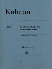 KUHNAU, Johann. Sämtliche Werke für Tasteninstrument. Munich: Henle Verlag.