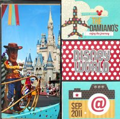 Scrap Your Stash: Disney SNAP + Project Life - Two Peas in a Bucket