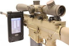 Technology and firearms-I guess nobody uses the rear sight aperture and the front sight post anymore....too old school!