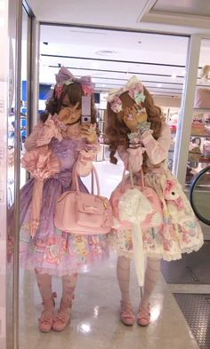 I always wondered how I'll look like wearing this out fit ~ Sweet Lolita Fashion