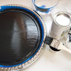 How to make chalkboard paint.... Since Michaels and Lowes are always out of it.