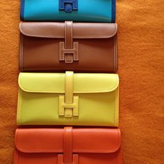 Hermes Jige clutches....
