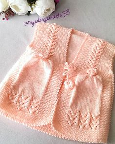 Best 12 Knitted Boys and Girls Baby Sweater, Vest Cardigan Patterns Knitted Boys and Girls Baby Sweater, Vest Cardigan Patterns Welcome to the knitting vest models gallery. We have created beautiful male baby vest m… – SkillOfKing. Kids Knitting Patterns, Baby Cardigan Knitting Pattern, Knitting For Kids, Knitting For Beginners, Crochet For Kids, Knitting Designs, Knit Crochet, Baby Dress Patterns, Crochet Baby Clothes