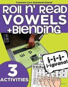 Roll and Read Short Vowels   CVC Blending   Kindergarten Reading Activities from KindergartenWorks on TeachersNotebook.com -  (30 pages)  - Make working on blending (with the focus on short vowel sounds) CVC words more fun with this race car activity plus a warm up and wrap up activity.