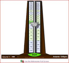 Music with Mrs. Dennis: Free Online Metronomes