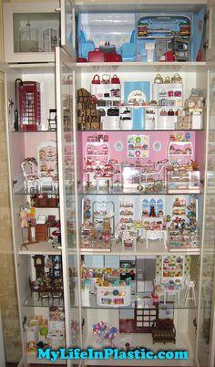 MyLifeInPlastic.com Doll Diorama Cabinets of Wonder
