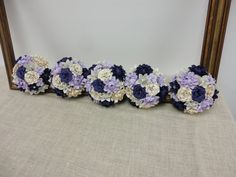 Mixed Paper Flower Bridesmaid Bouquets  Paper Peony by PoshStudios, $450.00