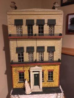 AMAZING Silber U0026 Fleming 3 Level Dollhouse/original Fireplaces