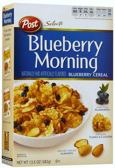 Blueberry Morning Cereal. Would eat this for breakfast, lunch & dinner. Everyday. I'm an addict :)