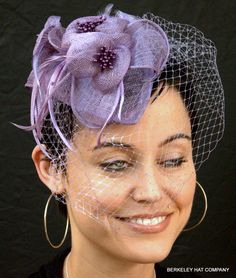 I think this hat might go well with my lilac dress.