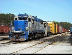 RailPictures.Net Photo: OMLX 2000 OmniTRAX EMD GP38-2 at Atlanta, Georgia by David Stewart