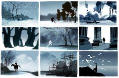 Hans Bacher (composition studies for 'Dream Worlds,' cut from the final version of the book)