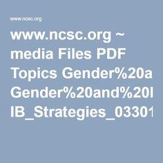 www.ncsc.org ~ media Files PDF Topics Gender%20and%20Racial%20Fairness IB_Strategies_033012.ashx