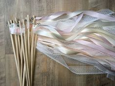 20 Wedding Wands-Wedding Rods with Bells in gold or silver Wedding Wands, Dream Decor, Gold, Colours, Beige, Etsy, Handmade, 秋のウェディング 装飾, Silver