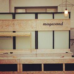 Stand Magasnd Mercado Central del Diseño #Mercadocentral #Magasand #Stand #arquitecturaefimera