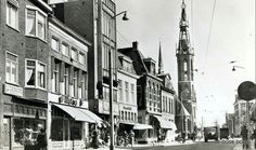 Rademarkt ca. 1964, links fa. Groeneveld