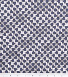 April Johnston Project Runway Fabrics-Greenwich Caning Stretch Cotton