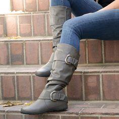 256c1caae08 Journee Collection Paris Women s Slouch Boots