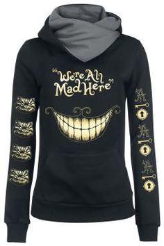 Walt Disney  Kapuzenpullover  »Alice im Wunderland - Mad Mouth« | Jetzt bei EMP kaufen | Mehr Fan-Merch  Kapuzenpullover  online verfügbar ✓ Unschlagbar günstig!