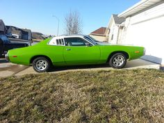 1973 Green Dodge Charger Special Edition Brougham