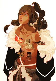 """PREVIEW OF """"THE LEGEND OF KORRA / AVATAR : THE LAST AIRBENDER TRIBUTE EXHIBITION"""" (GALLERY NUCLEUS)"""