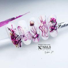 Aqua Nails, Water Color Nails, Nails 2017, Nail Studio, Love Nails, Nail Art Designs, Russia, Hair Beauty, Watercolor