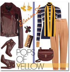 Fashion trends,beauty tips.My Polyvore finds.: Get Happy: Pops of Yellow