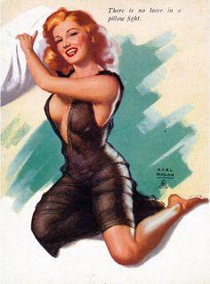 Marilyn Monroe by Earl Moran