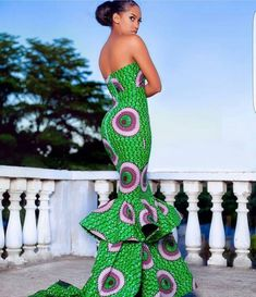 african mermaid dressAfrican clothing for womenAfrican maxi image 1 African Maxi Dresses, Ankara Dress, African Attire, Ankara Gowns, African Wear, African Women, African Fashion, African Style, Ankara Fashion