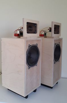 "Telefunky - Allington Audio for Crafty&Co. ""Pimped"" Telefunken Klangbox WB60 Beautiful looking speakers!"