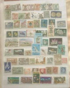 Small collection of over 60 used Commonwealth stamps