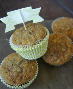 Apple and Carrot Muffins, great way for the kiddos to get extra fruit and veggies, easy to make!.