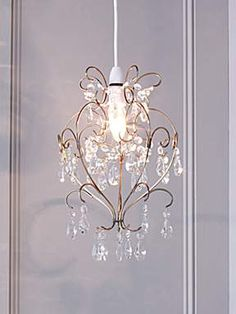 Linea bella easy fit chandelier house of fraser house furniture valentine easy fit light shade aloadofball Choice Image